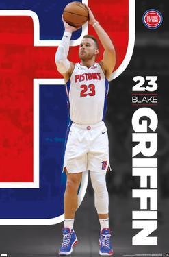 NBA Detroit Pistons - Blake Griffin 20