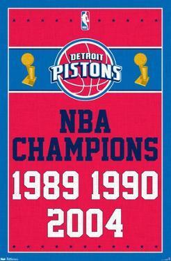 NBA Detroit Pistons - Champions 13