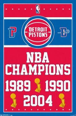 NBA Detroit Pistons - Champions 17