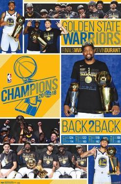 NBA Golden State Warriors - 2018 Commemorative NBA Finals Celebration