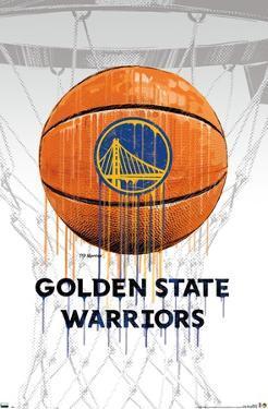 NBA Golden State Warriors - Drip Ball 20