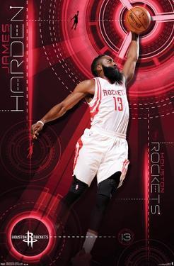 NBA Houston Rockets - James Harden 15