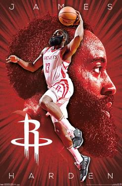 NBA Houston Rockets - James Harden 18