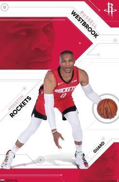 NBA Houston Rockets - Russell Westbrook 19