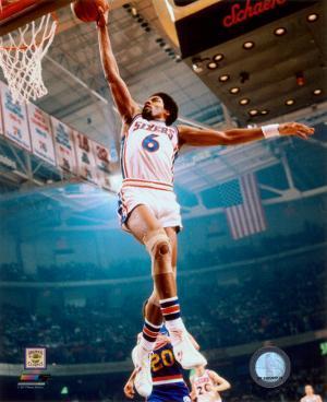 NBA Julius Erving 1974 Action
