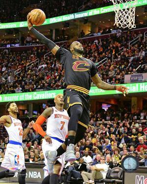 NBA: LeBron James 2016-17 Action