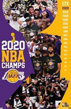 NBA Los Angeles Lakers - 2020 NBA Finals Celebration
