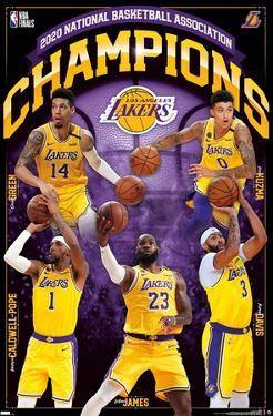 NBA Los Angeles Lakers - 2020 NBA Finals Champions