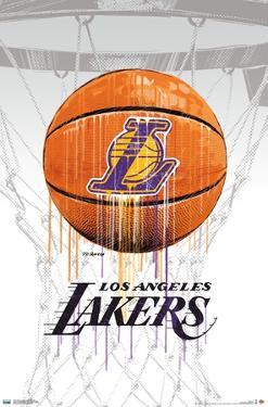 NBA Los Angeles Lakers - Drip Ball 20
