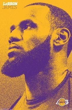 NBA Los Angeles Lakers - Lebron James 18