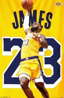 NBA Los Angeles Lakers - Lebron James 2018