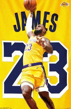 NBA Los Angeles Lakers - Lebron James 2018