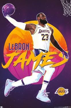 NBA Los Angeles Lakers - LeBron James 20