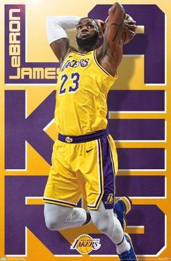 NBA LOS ANGELES LAKERS - LEBRON JAMES