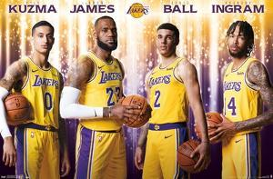 NBA Los Angeles Lakers - Team 18