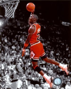 NBA Michael Jordan 1990 Spotlight Action