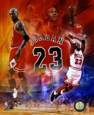 NBA Michael Jordan 2011 Legends Composite