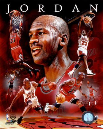 NBA Michael Jordan 2011 Portrait Plus