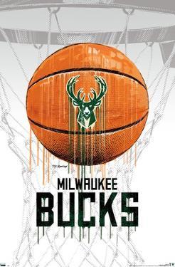 NBA Milwaukee Bucks - Drip Ball 20