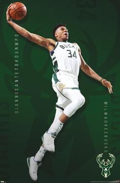 NBA Milwaukee Bucks - Giannis Antetokounmpo 19