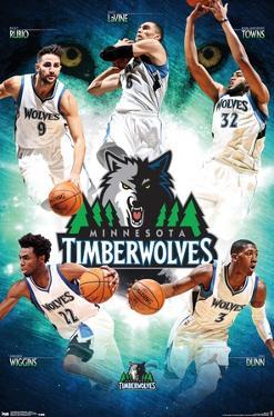 NBA Minnesota Timberwolves - Team 16