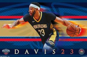 NBA New Orleans Pelicans - Anthony Davis 17