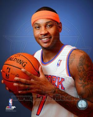 NBA New York Knicks Carmelo Anthony 2013-14 Posed