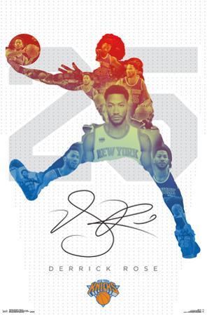 NBA: New York Knicks- Derrick Rose 16