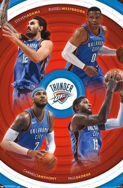 NBA Oklahoma City Thunder - Team 17