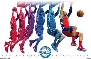 NBA Philadelphia 76ers - Ben Simmons 18