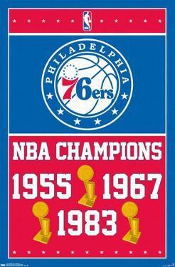 NBA Philadelphia 76ers - Champions 15