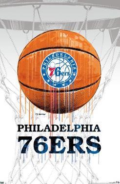 NBA Philadelphia 76ers - Drip Ball 20