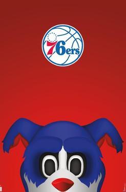 NBA Philadelphia 76ers - S. Preston Mascot Franklin