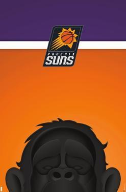 NBA Phoenix Suns - S. Preston Mascot Gorilla