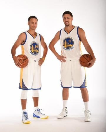 Golden State Warriors Media Day 2015 by NBA Photos