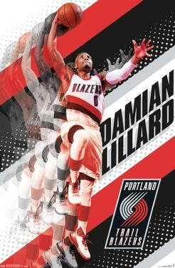 NBA Portland Trail Blazers - Damian Lillard 17