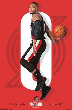 NBA Portland Trail Blazers - Damian Lillard 18