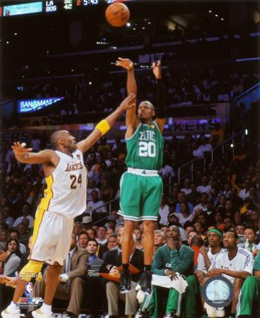 NBA Ray Allen Game Two of the 2009-10 NBA Finals
