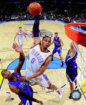 NBA Russell Westbrook 2010-11 Action
