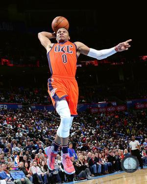 NBA: Russell Westbrook 2015-16 Action