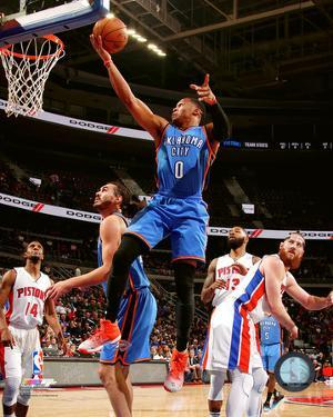 NBA: Russell Westbrook 2016-17 Action