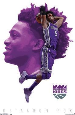 NBA Sacramento Kings - De'Aaron Fox 17