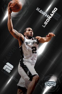 NBA: San Antonio Spurs- Kawhi Leonard 16