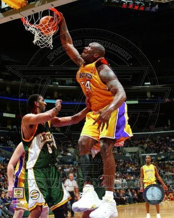 NBA Shaquille O'Neal Action