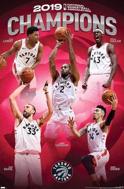 NBA Toronto Raptors - 2019 Commemorative NBA Finals Champions
