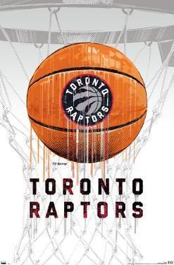 NBA Toronto Raptors - Drip Ball 20