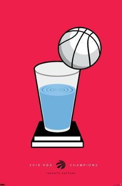 NBA Toronto Raptors - S. Preston Minimalist NBA Champions 2019