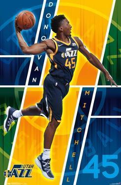 NBA Utah Jazz - Donovan Mitchell 18