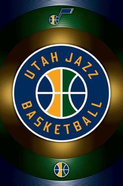 NBA: Utah Jazz- Team Logo