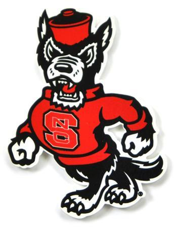 Nc State Wolfpack Strutting Wolf Steel Magnet
